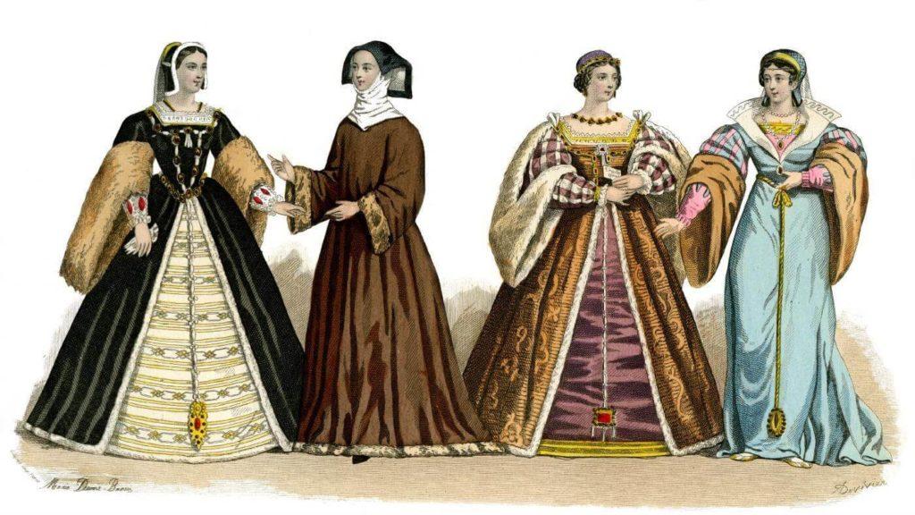 Italian Renaissance Era women