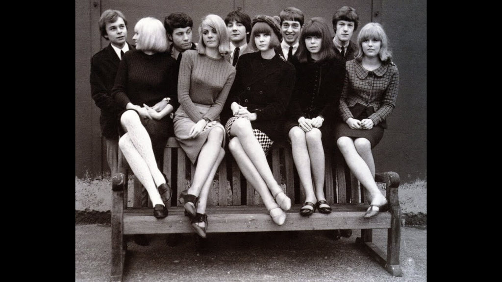 Swinging Sixties era women