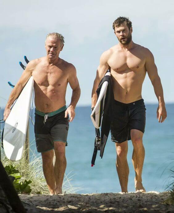 Craig Hemsworth Body Measurements