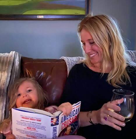 Jennifer Rauchet with her daughter