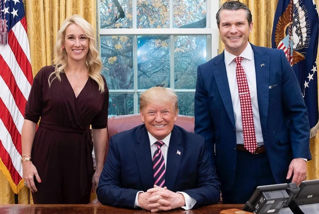 Jennifer-Trump-and-Pete-Hegseth