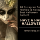 Instagram Profiles to Follow Halloween