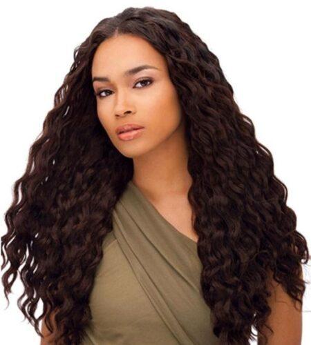 Deep wave hair weaves