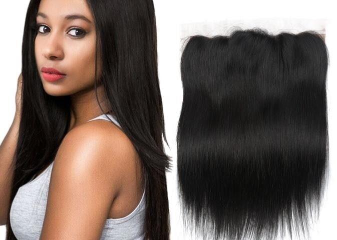 Full lace closure weaves hair