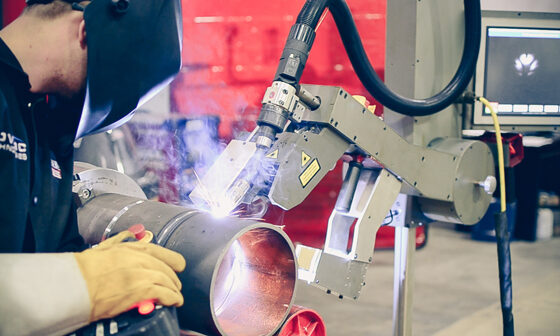 Welding with a Cobot