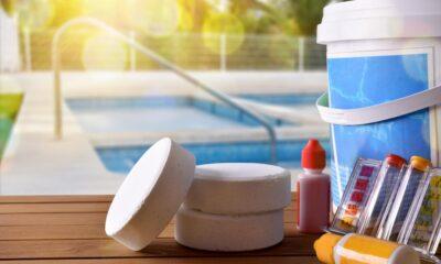 Chlorine in the Pool Water