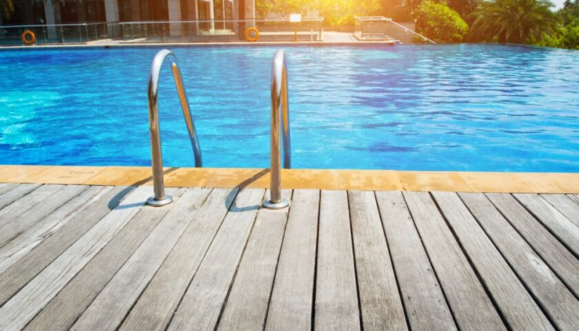Effect of Sun Rays on the Chlorine Pool Water