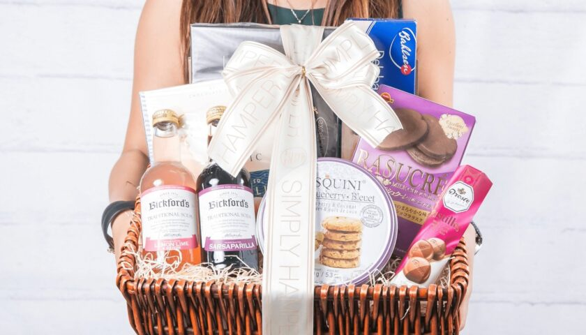 Hampers Are Easy to Order