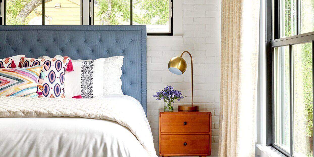 Bedroom to Relieve Stress