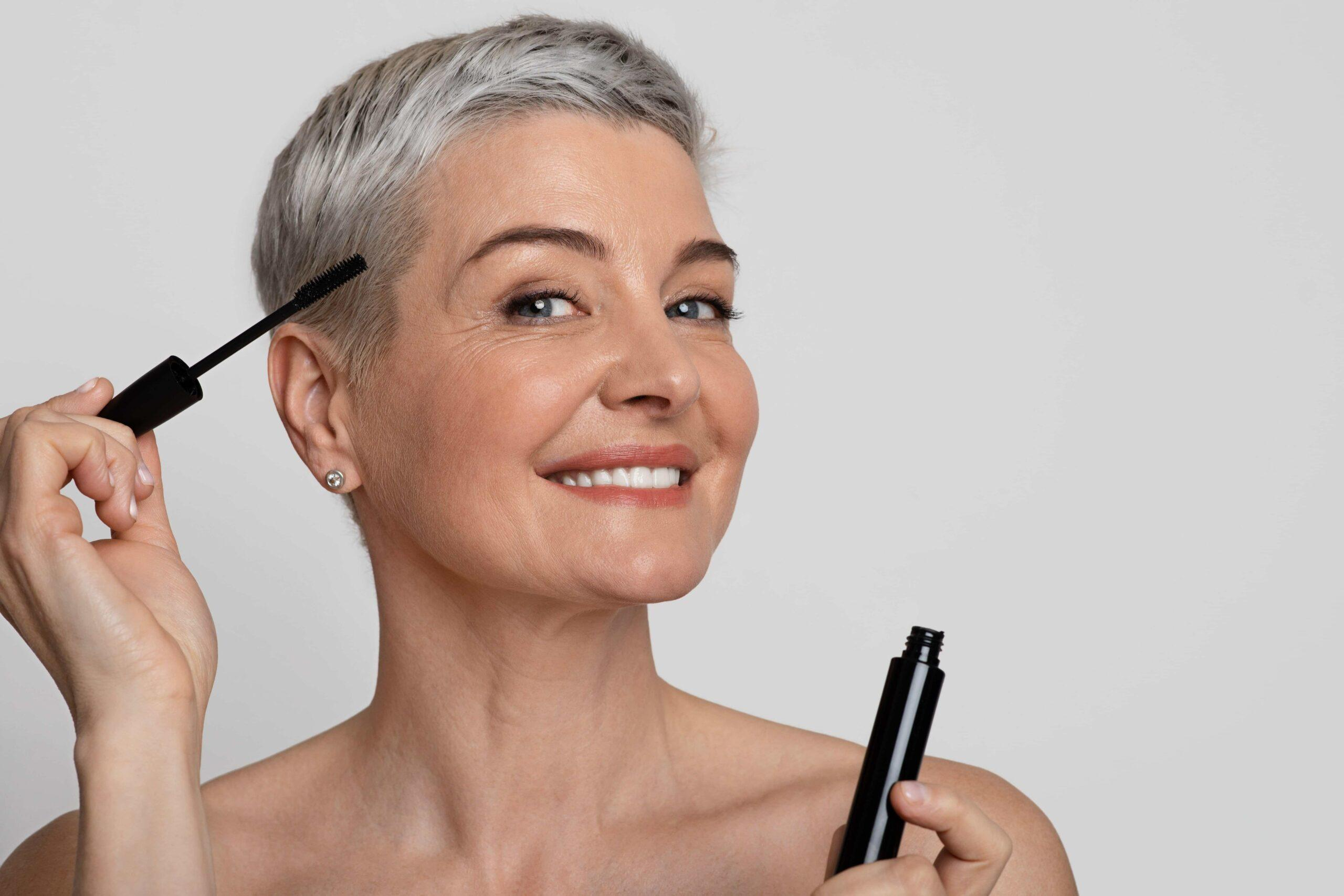 How to Grow Longer Eyelashes Over 40