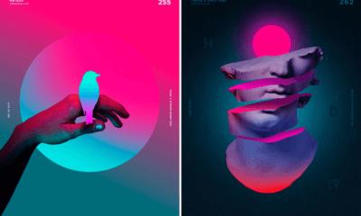 Modern graphic design trends