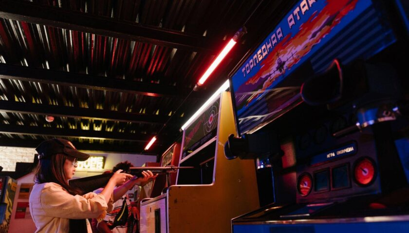 the Riccarton arcade